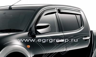 Дефлекторы окон EGR Mitsubishi  L200 2006-2014