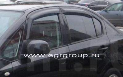 Дефлекторы окон EGR Suzuki SХ4 I Sd 2007-2012