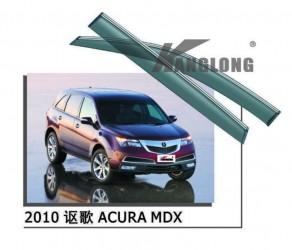 Дефлекторы окон с хром молдингом Acura MDX 2007-2013