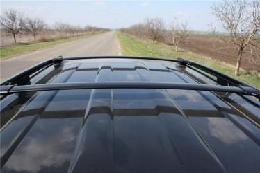 Поперечины на рейлинги штатные аэродинамические Toyota Land Cruiser Prado 120 / Lexus GX 470 2003-2009 комплект 2шт