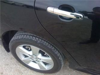 Накладки на ручки WELLSTAR Toyota Corolla 02-12 / Auris 07-12 / Camry 30 02-06 / Rav-4 00-05 / Yaris 05-12 / Hilux 05-12 / Terios 06- хромированный пластик 4шт. обычный ключ