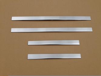 Накладки на пороги Skoda Octavia A7 2013-2015 узкие