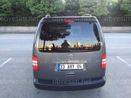 Хром накладка на ручку задней двери ЛЯДА Volkswagen T5 GP 10-15 / Caddy 11-15 нержавеющая сталь