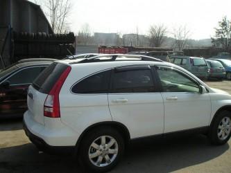 Рейлинги на крышу серебристые Honda CR-V 2006-2012