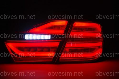 Альтернативные задние фонари Toyota Camry 55 2014-