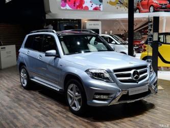 Подножки Mercedes-Benz GLK class X204 2008-2015