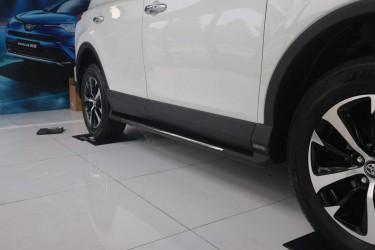 Интегрированные подножки Toyota Rav 4 рестайлинг 2016-