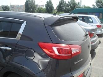 Спойлер козырек Kia Sportage 2010-2015 ABS пластик под покраску