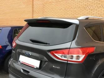 Спойлер козырек Ford Kuga 2013- ABS пластик под покраску