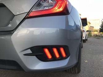 Задние габариты LED для Honda civic SD 2016-