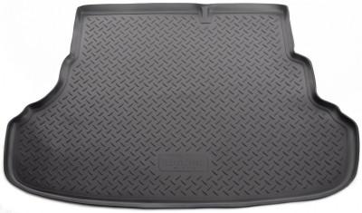 Коврик багажника полиуретановый Norplast Hyundai Accent 2011- седан (для автомоб. со склад. сидениями)