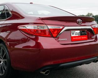 Спойлер лип багажника Toyota Camry 55 2015-2017 USA ABS пластик под покраску