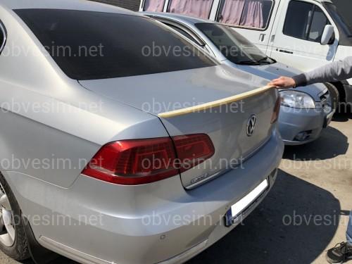 Спойлер лип на багажник Volkswagen Passat B7 2011-2015 ABS пластик под покраску