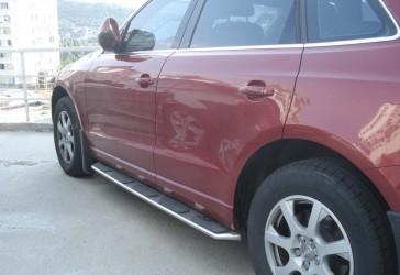 Пороги боковые Audi  Q5 2010-2017 оригинальный дизайн