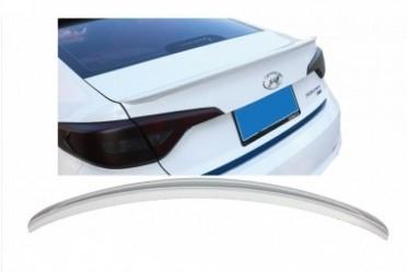 Спойлер лип багажника Hyundai Sonata LF 2015-2017 АБС пластик под покраску