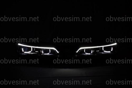 Передние LED фары для Volkswagen Passat B8 USA 2015-