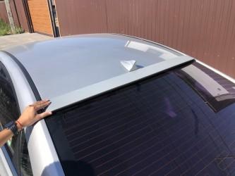 Козырёк на стекло Hyundai Sonata YF 2010-2015 ABS пластик под покраску