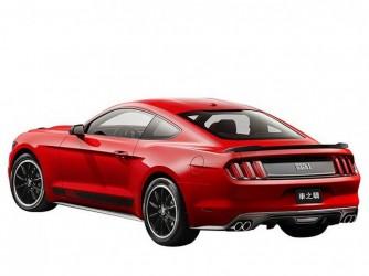 Спойлер багажника Ford Mustang 2015- ABS пластик под покраску