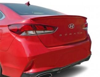 Спойлер лип Hyundai Sonata LF рестайлинг 2018-2019 ABS пластик под покраску