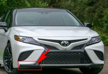 Накладка бампера нижняя правая Toyota Camry SE / XSE 70 2018+