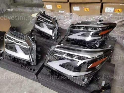 Фары Full Led Lexus GX 460 рестайлинг 2020+ 2шт. левая+правая
