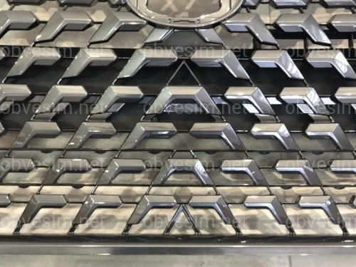 Решетка радиатора Lexus GX 460 2014-2021 в стиле рестайлинг 2020+