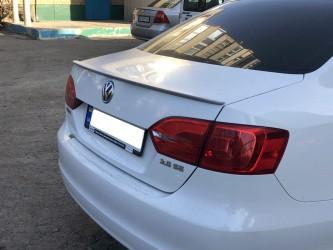 Спойлер лип багажника Volkswagen Jetta 2010-2017 ABS пластик под покраску