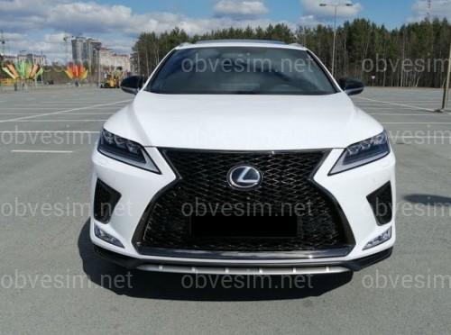 Бампер передний комплектный F-Sport Lexus RX 2019-
