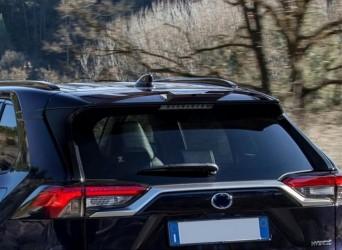 Спойлер на крышку багажника Toyota Rav-4 2019- ABS пластик под покраску