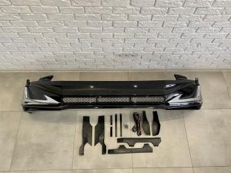 Юбка переднего бампера Toyota Land Cruiser Prado 150 2018-