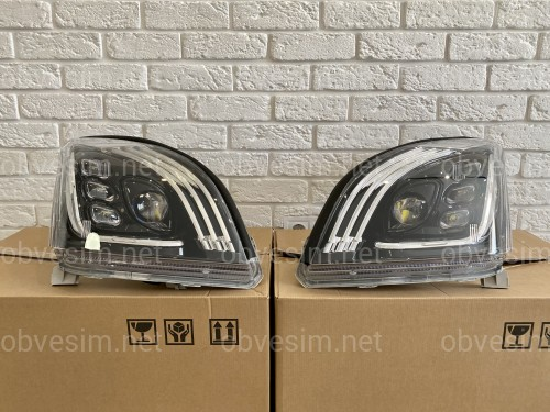 Фары Full LED Toyota Land Cruiser Prado 120 2003-2009 Maybach style