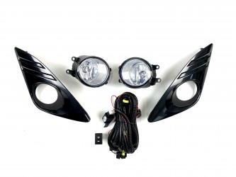 Комплект противотуманных фар Toyota Camry 50 USA LE / XLE 2012-2014 Black