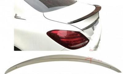 Спойлер лип на багажник Mercedes E class W213 2016-2021 ABS пластик под покраску