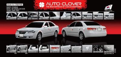 Дефлекторы окон Clover Hyundai Sonata NF 2004