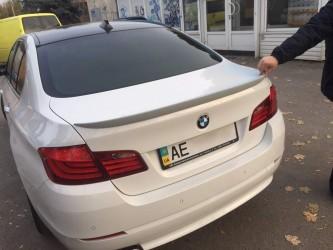 Спойлер лип на багажник BMW series 5 F10 2010- ABS пластик