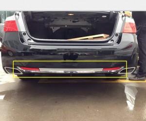 Молдинг на задний бампер Honda Accord CL 9 2015-