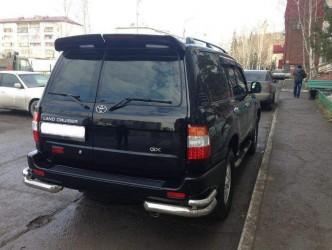 Спойлер козырек Toyota Land Cruiser 105 1998-2007 распашонка 2 двери (ABS под покраску)