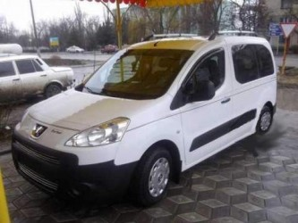 Дефлекторы окон HIC Citroen Berlingo II / Peugeot Partner II 2008-2018