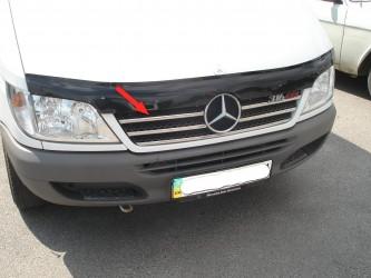 Хром накладки на решетку радиатора Mercedes-Benz Sprinter W901 2003-2006