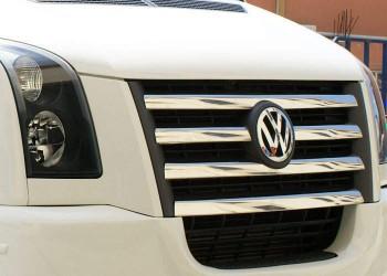 Хром накладки на решетку Volkswagen Crafter 2006-2012