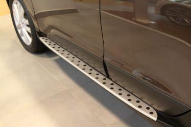 Пороги боковые Hyundai IX35 2010-2015 стиль BMW