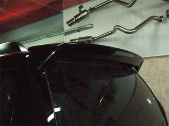 Спойлер на крышку багажника Toyota Land Cruiser Prado 120 2003-2009 цвет черный ABS пластик