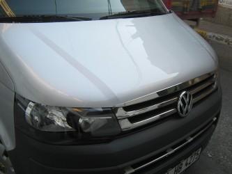 Хром молдинг на капот Volkswagen T5 GP 2010-2015 (нержавеющая сталь)