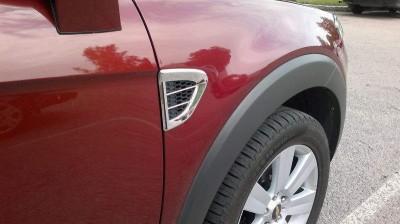 Накладки на воздуховоды Chevrolet Captiva 2006-2016