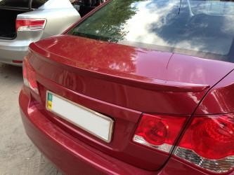 Спойлер лип багажника Chevrolet Cruze 2009- ABS пластик под покраску