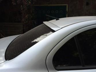 Козырёк на стекло Mitsubishi Lancer X 2007-2015