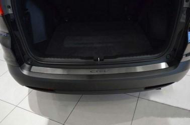 Накладка на задний бампер Honda CR-V 2012- (нержавеющая сталь)