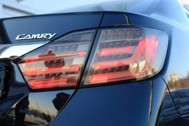 Задние фонари для Toyota Camry 50 2011-2014  светодиодные BMW Style Smoke