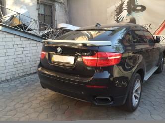 Спойлер крышки багажника Hamann BMW X6 E71 ABS пластик