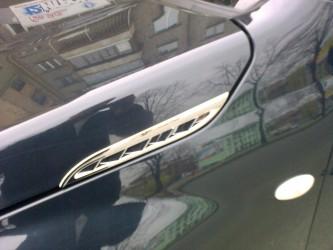 Накладки на воздуховоды Suzuki Grand Vitara 2005-2014 (пластик)